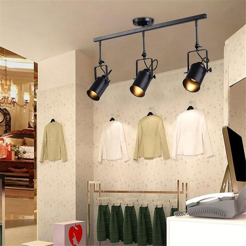 Nordic personality simple atmospheric chandelier creative led iron nordic personality simple atmospheric chandelier creative led iron droplight for restaurant coffee bar lustres lighting fixture in chandeliers from lights aloadofball Choice Image