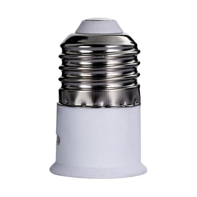 5pcs E27 to B22 Light Lamp Bulb Fireproof Holder Adapter Converter Socket Base Bayonet Cap to Edison Screw