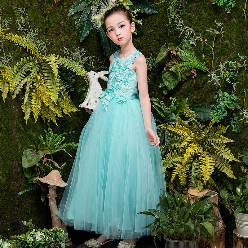2018 Summer Girl Dress New Fashion Cotton Lace Birthday Party Piano Dress For Wedding Clothes Flower Baby Girl Summer Dress 8528 lace dresses for girls wedding birthday party dress sleeveless flower summer dress girl clothes bow fashion cute princess dress