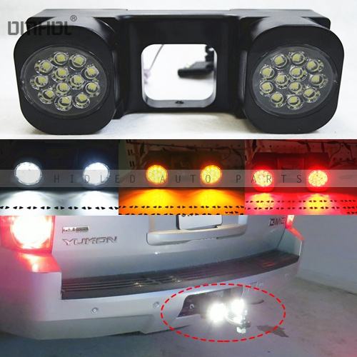 Tow Hitch Mount 40W High Power LED Pod Backup Reverse Lights/Rear Search Lighting/Off-Road Work Lamps For Truck SUV Trailer конструктор ogobild bits hitch 20 элементов