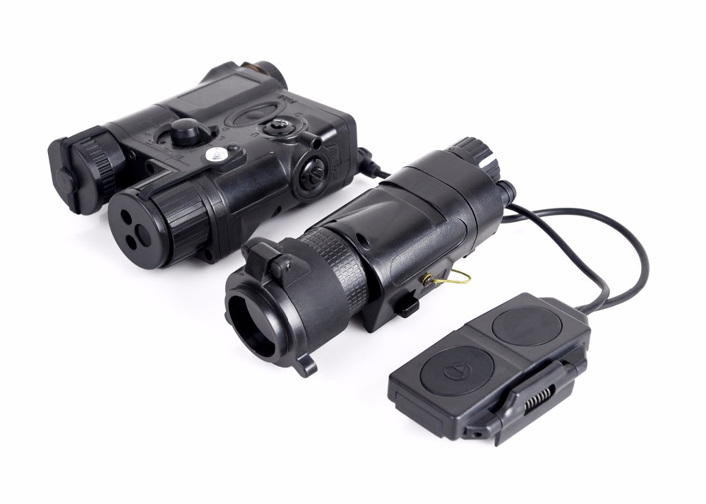 Element Airsoft SF PEQ 16A Tactical lights Combo L-3 Advanced Illuminator with M3X Aiming Red Laser and IR light combo wipson lanterna airsoft led light tactical kit includes la 5 peq 15