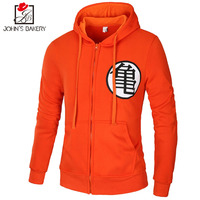 2018 Special Offer Full O Neck New Hoodies Brand Men Dragon Ball Sweatshirt Male Hoody Hip