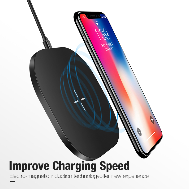 Cafele Qi 15W Wireless Charger for Samsung S9 iPhone 8 X Universal Wireless Charger for iPhone 8 Samsung Wireless Charger Pad