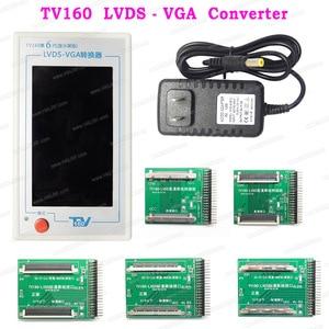 Image 5 - TV160 7th TV Mainboard Tester Tools LCD Display Vbyone LVDS to HDMI Converter + 7 Adapters Panels