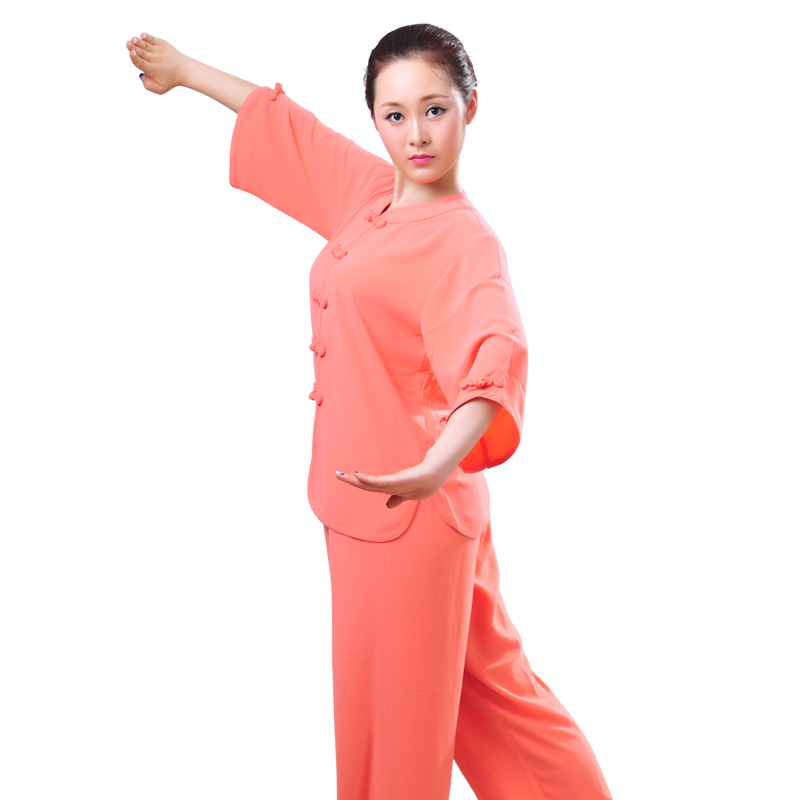 JDUanL Spring Fall Summer China Tai Chi Uniform For Women Kids,Adults Kung Fu Qigong Outfits Clothing Tops+Pants 2018 DCO