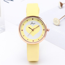 New fashion ladies belt watch small fresh love student