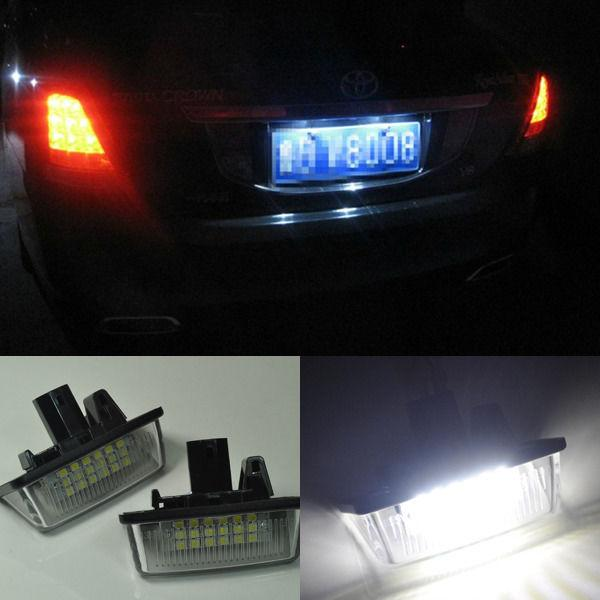 Peugeot 307 CC 03-07 Rear Tail License Light Number Plate Lamp