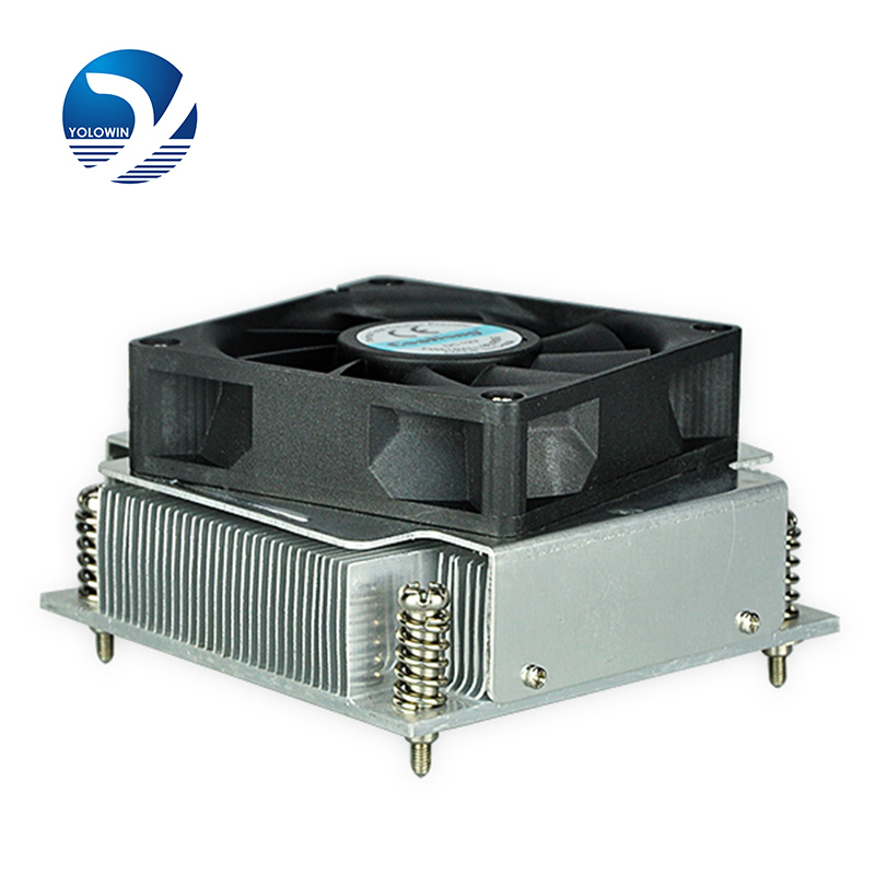 1U Active Solution cooling fan radiator cooling ventilator CPU Cooler 1155 1156 Form-relieved tooth 4Line Computer Cooling D5-25 personal computer graphics cards fan cooler replacements fit for pc graphics cards cooling fan 12v 0 1a graphic fan