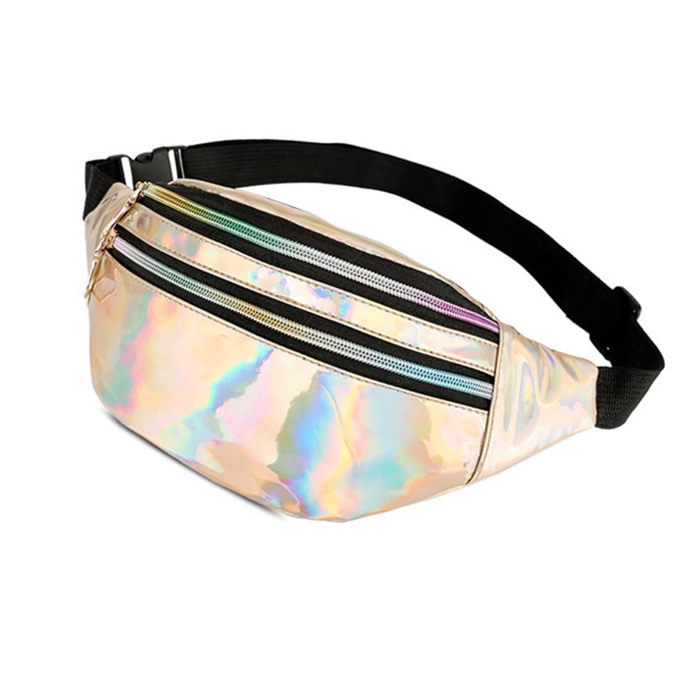 Fashion Fanny Pack Fashion Glossy Zipper Waist Pack Adjustable Strap Woman Corssbody Bag Waterproof Nerka Pochete поясная сумка