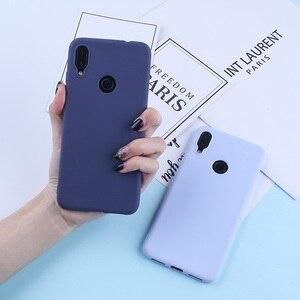 Image 2 - Solid Candy Color Case For Redmi Note 7 Cases For Xiaomi Mi 9 8 Lite Redmi Note 5A Prime Note 5 Pro 4X Luxury Cover For Redmi 4A