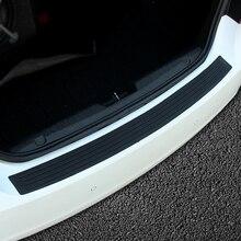 Автомобильный задний бампер защитный порог против потертостей педали Крышка для Volkswagen VW polo passat B5 B6 B7 B8 CC golf 4 5 6 7 MK7 jetta MK5 mk6