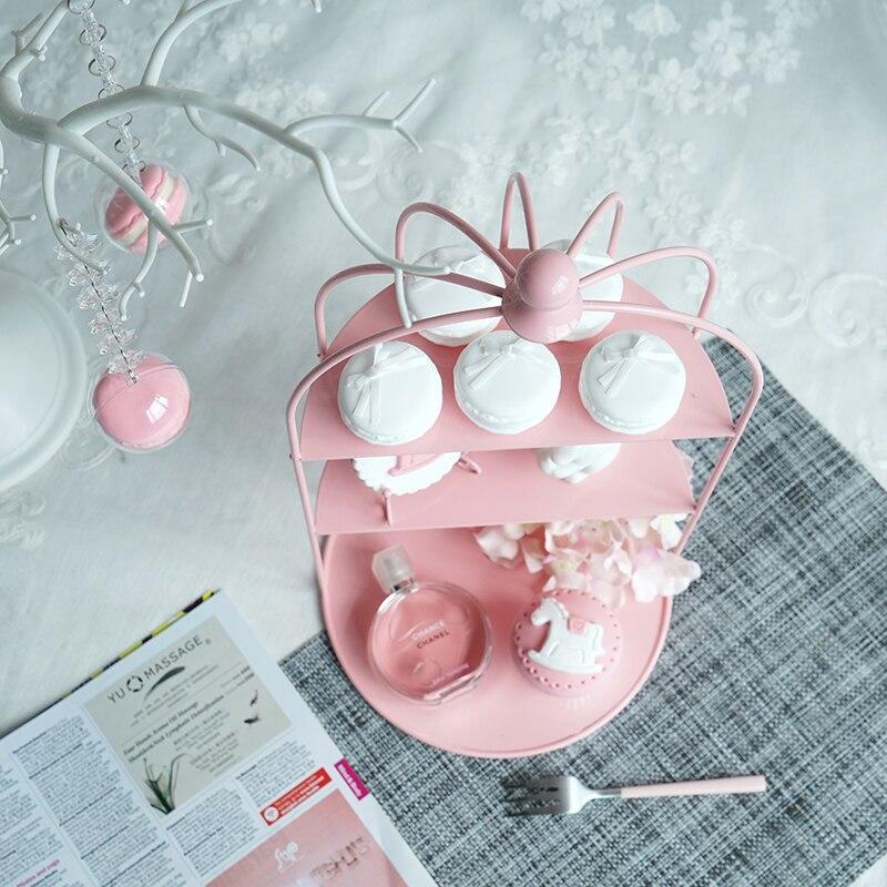 Ev ve Bahçe'ten Standlar'de SWEETGO için Kuş Kafesi cupcake pembe dekorasyon araçları düğün tatlı tatlı masa tedarikçisi fırıncı vitrin kek standı'da  Grup 2