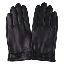 2018 Autumn And Winter Men'S Sheep Gloves Winter Warm Men Plus Velvet Thick Leather Gloves Touch Screen M17012NC-5