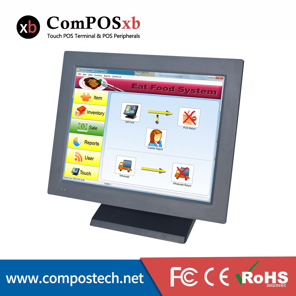 Cheap Price Supermarket Equiptment  Touch Screen Pos/Epos Computer System All In One Pos Terminal For Retail Shops Windows POS free shipping pos software cheap touch