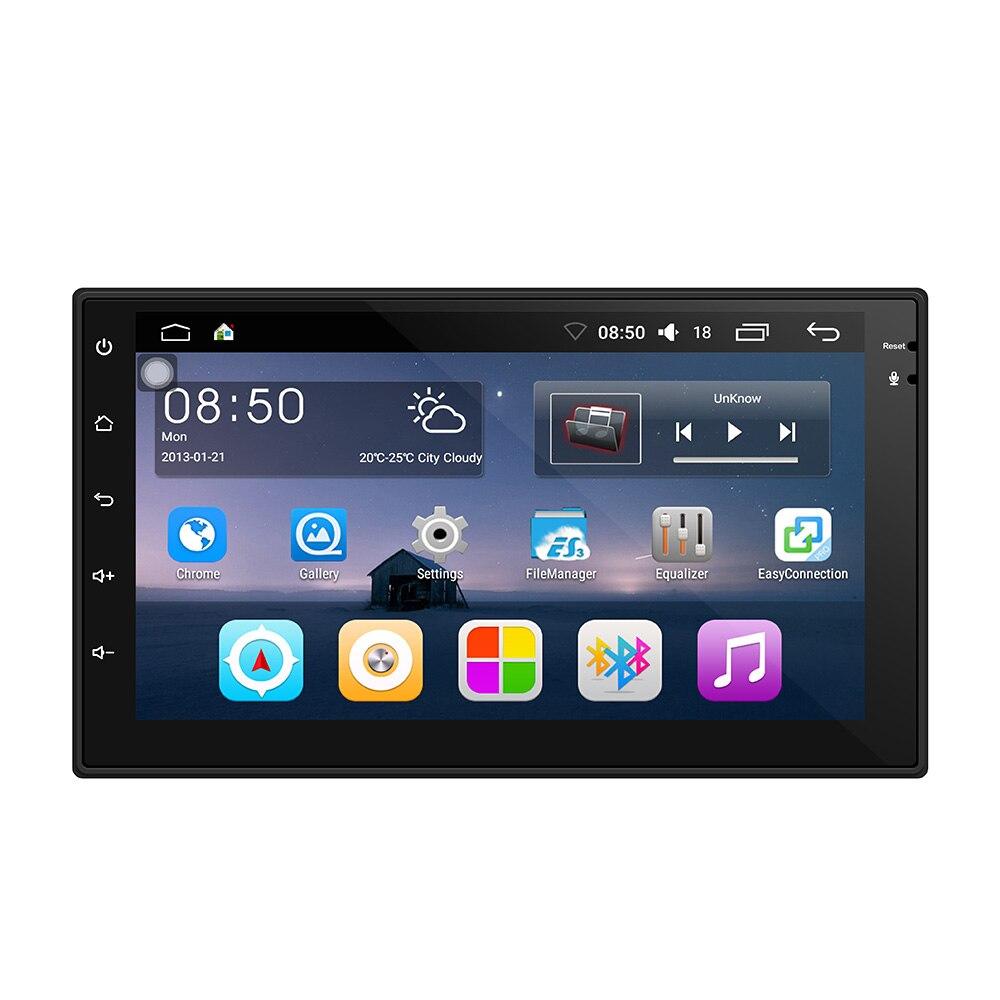 2 Din Автомагнитолы gps навигации Android 6,0 Сенсорный экран автомобиль аудио плеер 4 я ...