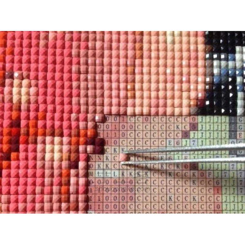 Рукоделие diy Алмазная картина вышивка крестиком пэчворк сиреневые ромашки 3d картина квадратная Алмазная полная resinstone наклейка картина