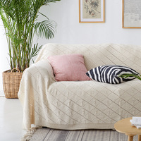 New Sofa Blankets for Beds Cotton Blanket Bedding Cover Knitting Throw Air Conditioning Sleeping Bedspreads 130x160/180X230CM