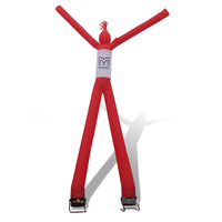 AD057 Benao double legs air dancer for sale,tall Air Inflatable Dancer Tube Puppet red (Blower optional)