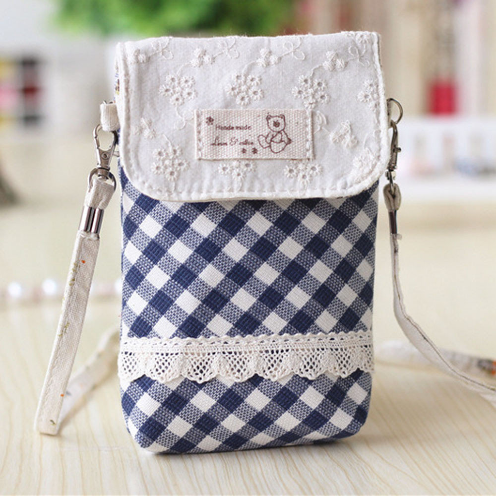 19b632160503 Designer Messenger Bags Women Bag Mini Handbags Female High Quality Fresh  Lace Girls Shoulder Bags Cotton Small Crossbody Bag-in Top-Handle Bags from  ...