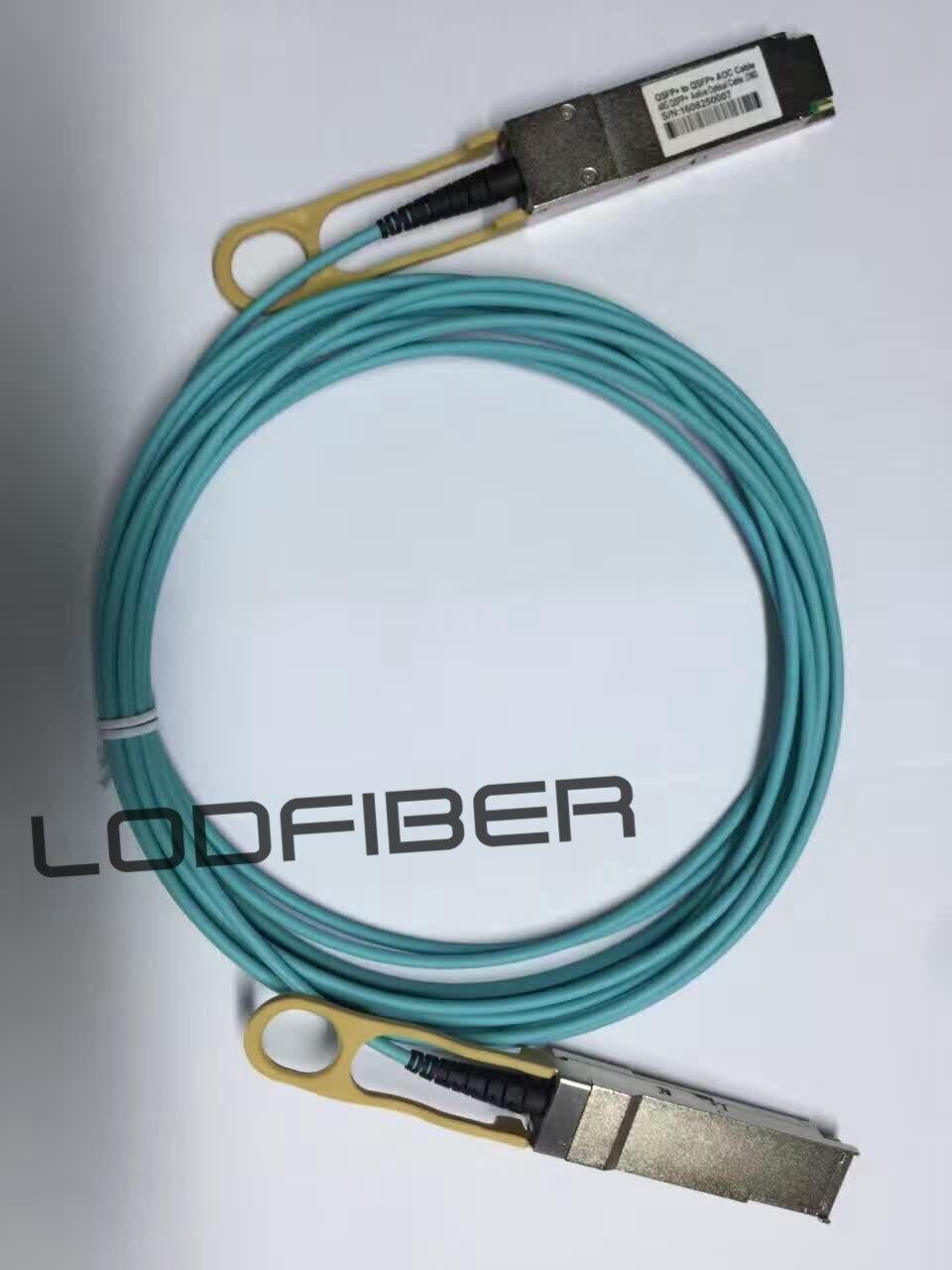 50 m (164ft) Avago AFBR-7QER50Z Uyumlu 40G QSFP + Aktif Optik Kablo50 m (164ft) Avago AFBR-7QER50Z Uyumlu 40G QSFP + Aktif Optik Kablo