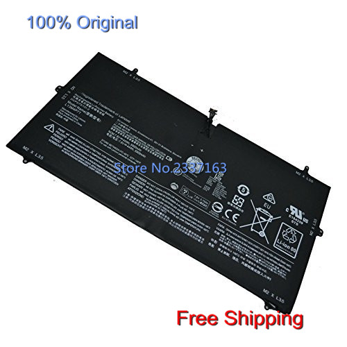 IECWANX 100% new Laptop Battery L13M4P71 (44Wh 7.6V 5900mAh) for Lenovo Yoga 3 Pro 1370
