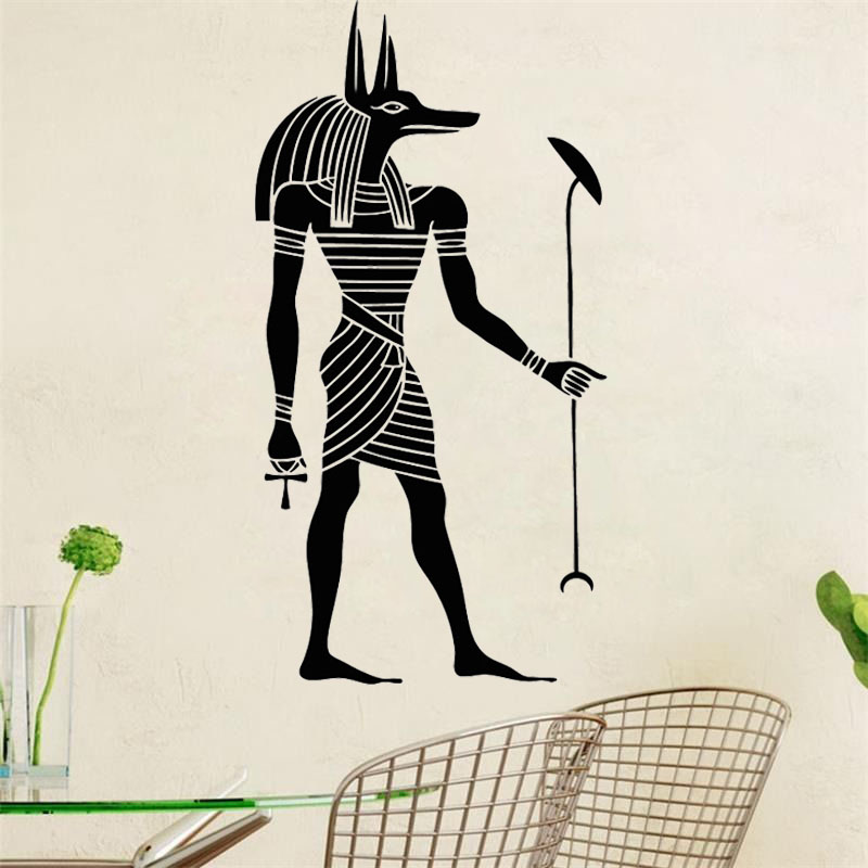 Egyptian Figure Wall Sticker Modern Design Home Decor Living Room Diy Removable Vinyl Wall Art Decal Bedroom Decoration