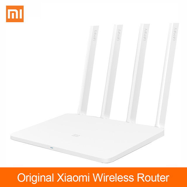 US $37 49 |Original Xiaomi Mi Router 3 Wireless WIFI Antennas Dual Band  2 4G/5G 1167Mbps 128MB flash 4 Aerial APP Control English version-in  Wireless