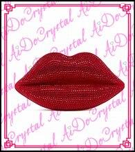 Aidocrystal super qualität handmade mund form kristall party handtasche für damen
