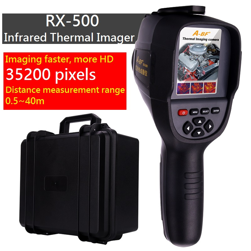 A BF RX 300 RX 500 Portable Infrared Thermometer Handheld Thermal Imaging Camera as the same