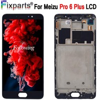 5.7 For Meizu Pro6 Pro 6 Plus LCD Display Touch Screen Digitizer Assembly Replacement For Meizu Pro 6 Plus LCD With Free Tools