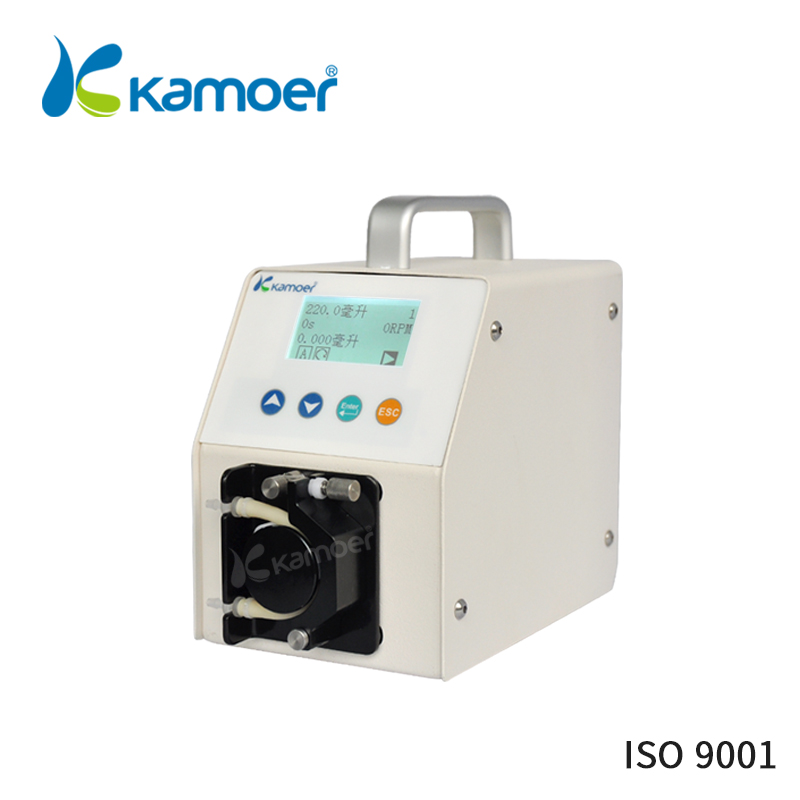 Kamoer LLS PLUS 220V/110V flow adjustable peristaltic pump micro water pump mini electric water pump peristaltic dosing pump kamoer kcp pro lab chemical dosing pump peristaltic pump micro water pump 24v electric pump with flow rate adjustable