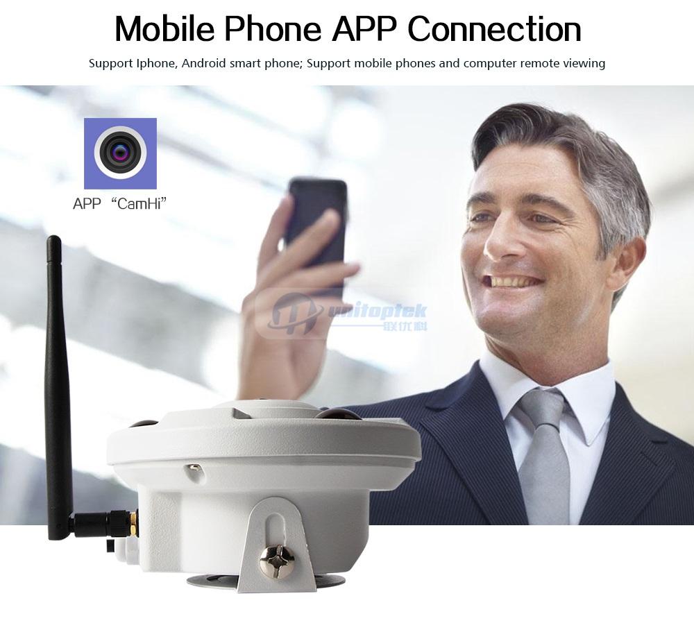 03 Wireless Panoramic Wifi Camera