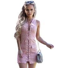Schulterfrei Sexy Tiefem v-ausschnitt Marke Bandage Reißverschluss Frauen Minikleid Nachtclub Tragen Cocktailparty-kleider LJ7749U