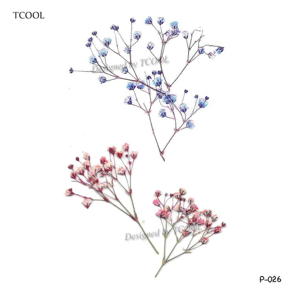 HXMAN ดอกไม้รอยสักชั่วคราวสำหรับผู้หญิง TATTOO สติกเกอร์ Body Art กันน้ำปลอมสักกระดาษ 9.8X6 ซม.P-013