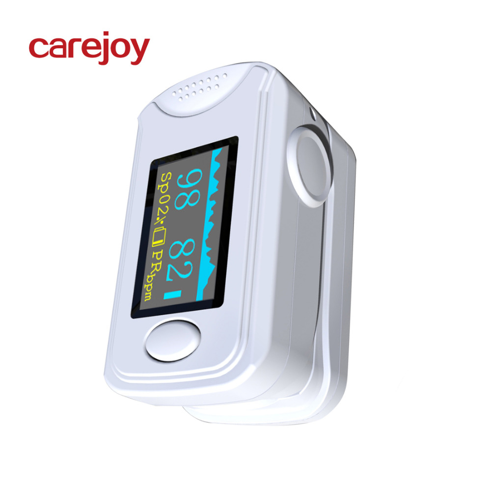 CE report OLED Fingertip Pulse Oximeter Blood Oxygen SPO2 PR oximetro monitor Finger Oximeter Sound alarm Beep SPO2 PR setting in Blood Pressure from Beauty Health
