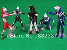 Classi Amine Ultraman VS Monster action figures 5pcs/set PVC Monster Toys for Kids