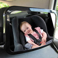 Car Back Seat Baby Safety Mirror Adjustable Rearview Infants Spiegel Rear Ward View Auto Interior Mirrors
