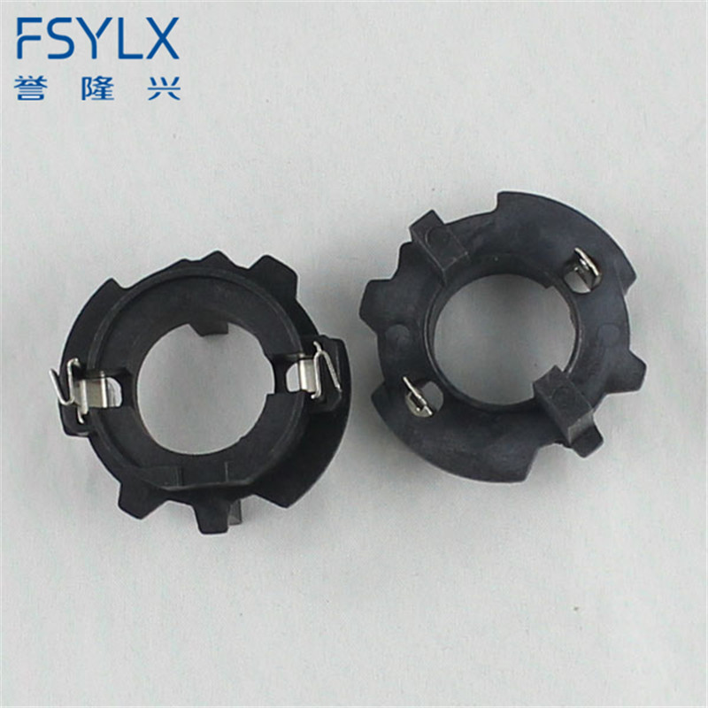 FSYLX 2pcs New HID xenon bulbs H7 holder base socket adaptor for Volkswagen Jetta Golf 5 Touran Lavida free shipping!
