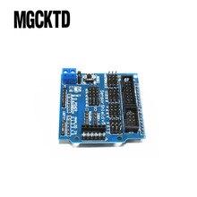 D101 5PCS/LOT Sensor Shield V5.0 sensor expansion board for electronic building blocks