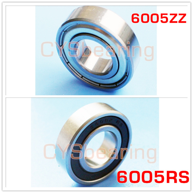 stainless steel 440 6005 S6005 SS6005 6005 2RS 25X47X12mm 6005RS Bearing Deep Groove 6005-2RS Ball Bearings 6005RZ 180105 RZ RS