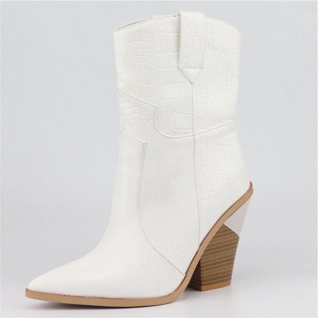 MORAZORA Drop ship ยี่ห้อรองเท้าผู้หญิง pointed toe wedges รองเท้าฤดูใบไม้ร่วงฤดูหนาวรองเท้าสั้นสุภาพสตรี Western ข้อเท้ารองเท้าบูทสำหรับสุภาพสตรี