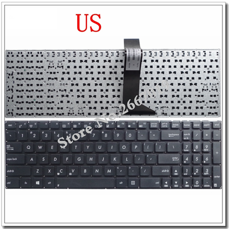 NEW English FOR Asus X550C X550CA X550CC X550CL X550J X550JD X550JF X550JK X550JX X550L X550LA X550LAV Laptop Keyboard US