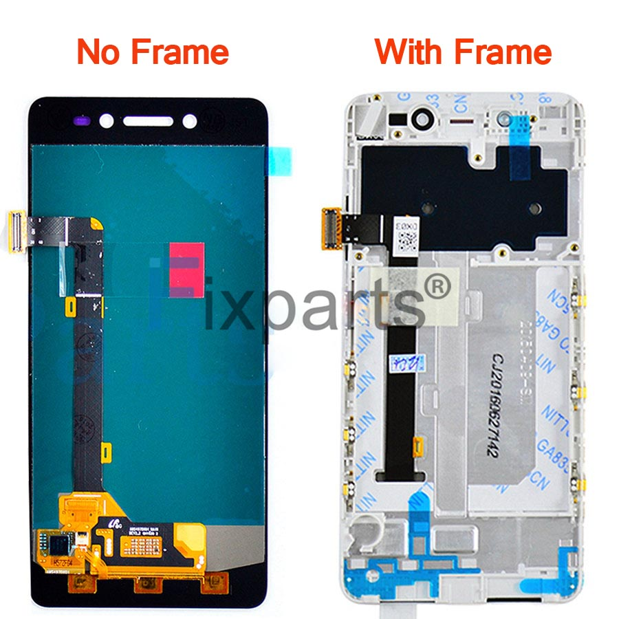 100 Tested Lenovo S90 LCD Touch Screen panel Digitizer Assembly Replacement S90T S90U S90A With Frame 5 0 quot For Lenovo S90 LCD in Mobile Phone LCD Screens from Cellphones amp Telecommunications