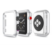 Apple watch frame Colorful PC Case Cover iWatch 38 /42mm