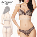 Intimates female underwear set,2016 New Women Sexy lace women Bra Sets,push up bras and lingerie thong set