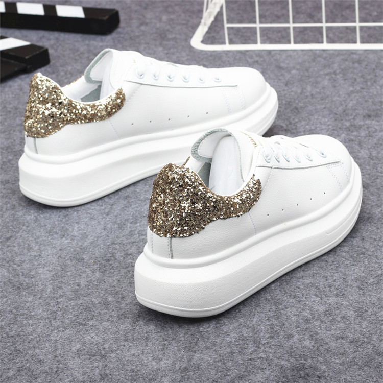 New Fashion Vulcanize Shoes Trainers Women Sneakers Casual Shoes Basket Femme PU Leather Tenis Feminino Zapatos Mujer Plataforma 59