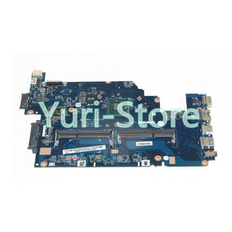 NOKOTION Z5WAL LA-B211P For acer aspire E5-511 Laptop motherboard NBMPL11001 NB.MPL11.001 SR1W3 N2930 DDR3L nokotion laptop motherboard for acer aspire v5 171 intel i3 2377m 1 5ghz cpu onboard ddr3 nbm3a11005 nb m3a11 005 la 8941p