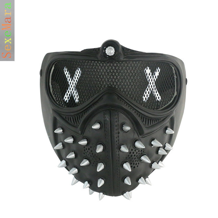 How To Make Wrenches Mask From Watch Dogs