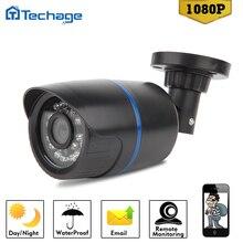 Techage Полный 2.0MP HD Ip-камера Onvif P2P Пуля Ночного Видения Камеры 1920*1080 P Водонепроницаемая Камера Наблюдения CCTV главная Безопасность