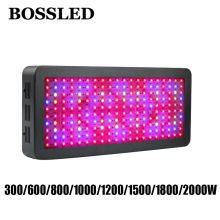 BOSSLED 300W 600W 800W 1000W 1200W 1500W 1800W 2000W Led grow light lamps panel for indoor plants grow light full spectrum led